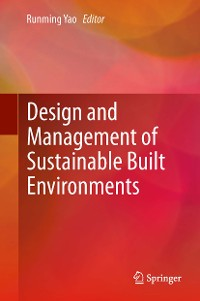 Cover Design and Management of Sustainable Built Environments