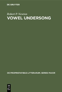 Cover Vowel undersong