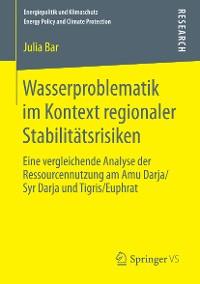 Cover Wasserproblematik im Kontext regionaler Stabilitätsrisiken