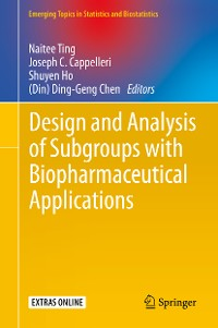 Cover Design and Analysis of Subgroups with Biopharmaceutical Applications