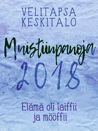 Cover Muistiinpanoja 2018