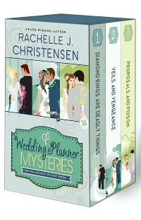 Cover Wedding Planner Mysteries Box Set: Cozy Mystery Series 1-3