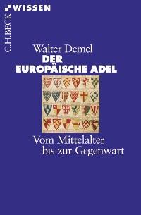 Cover Der europäische Adel