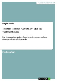 "Cover Thomas Hobbes ""Leviathan"" und die Vertragstheorie"