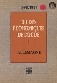 Cover Etudes economiques de l'OCDE : Allemagne 1991