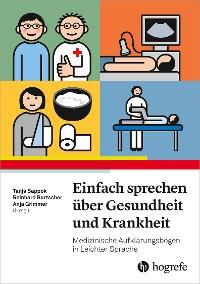 Cover Einfach Sprechen über Gesundheit und Krankheit