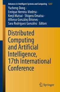 Cover Distributed Computing and Artificial Intelligence, 17th International Conference