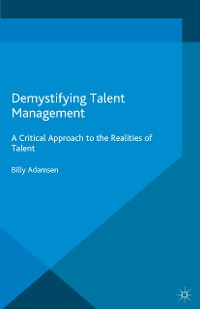 Cover Demystifying Talent Management