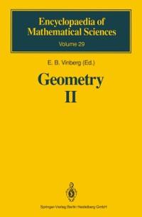 Cover Geometry II