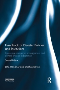 Cover Handbook of Disaster Policies and Institutions