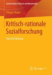Cover Kritisch-rationale Sozialforschung