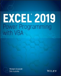 Cover Excel 2019 Power Programming with VBA