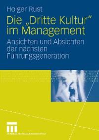 """Cover Die """"Dritte Kultur"""" im Management"""