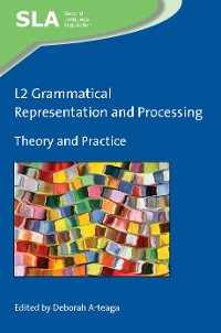 Cover L2 Grammatical Representation and Processing