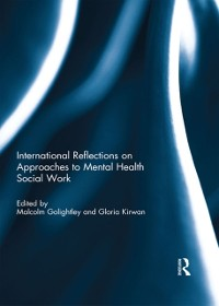 Cover International Reflections on Approaches to Mental Health Social Work