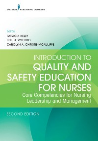 Cover Introduction to Quality and Safety Education for Nurses