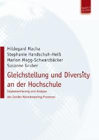 Cover Gleichstellung und Diversity an der Hochschule