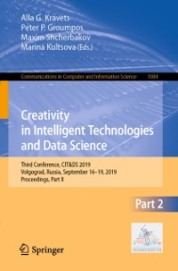 Cover Creativity in Intelligent Technologies and Data Science