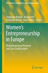 Cover Women's Entrepreneurship in Europe