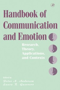 Cover Handbook of Communication and Emotion