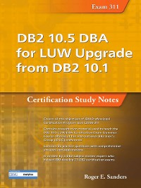 Cover DB2 10.5 DBA for LUW Upgrade from DB2 10.1