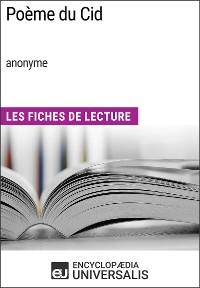 Cover Poème du Cid (anonyme)