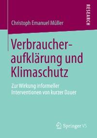 Cover Verbraucheraufklärung und Klimaschutz