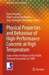 Cover Physical Properties and Behaviour of High-Performance Concrete at High Temperature