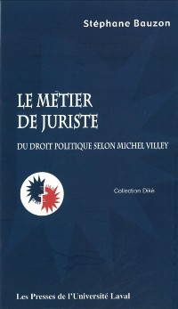 Cover Le metier de juriste