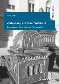 Cover Verfassung auf dem Prüfstand