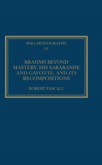 Cover Brahms Beyond Mastery