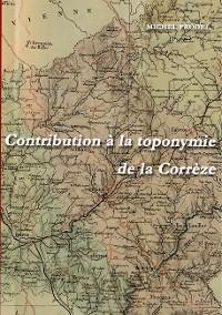 Cover Contribution à la toponymie de la Corrèze