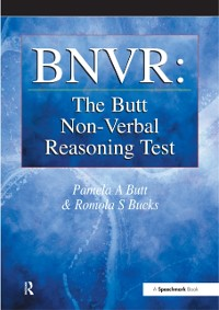 Cover BNVR: The Butt Non-Verbal Reasoning Test