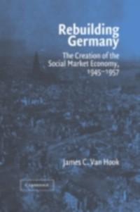 Cover Rebuilding Germany