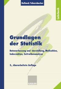 Cover Grundlagen der Statistik