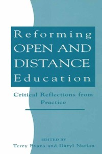 Cover Reforming Open and Distance Education
