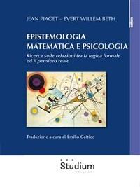 Cover Epistemologia matematica e psicologia