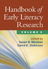 Cover Handbook of Early Literacy Research, Volume 3