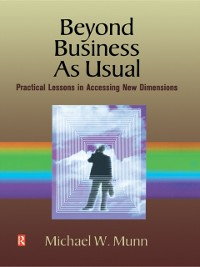 Cover Beyond Business as Usual