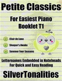 Cover Petite Classics for Easiest Piano Booklet T1