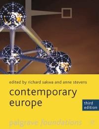 Cover Contemporary Europe