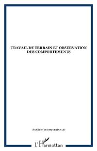 Cover Travail de terrain et observation des comportements