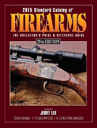 Cover 2015 Standard Catalog of Firearms