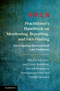 Cover HPCR Practitioner's Handbook on Monitoring, Reporting, and Fact-Finding
