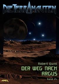 Cover DIE TERRANAUTEN, Band 26: DER WEG NACH ARGUS