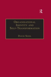 Cover Organisational Identity and Self-Transformation