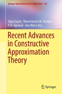 Cover Recent Advances in Constructive Approximation Theory