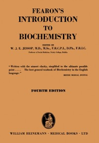 Cover Fearon's Introduction to Biochemistry