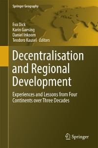 Cover Decentralisation and Regional Development