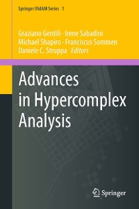 Cover Advances in Hypercomplex Analysis